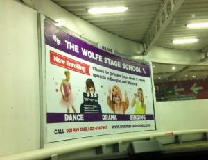 Dance advert in Cork