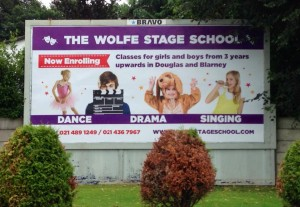 billboard advertising dance classes