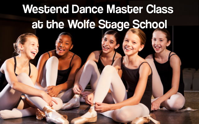 Dance master class at the wolfe stage school cork